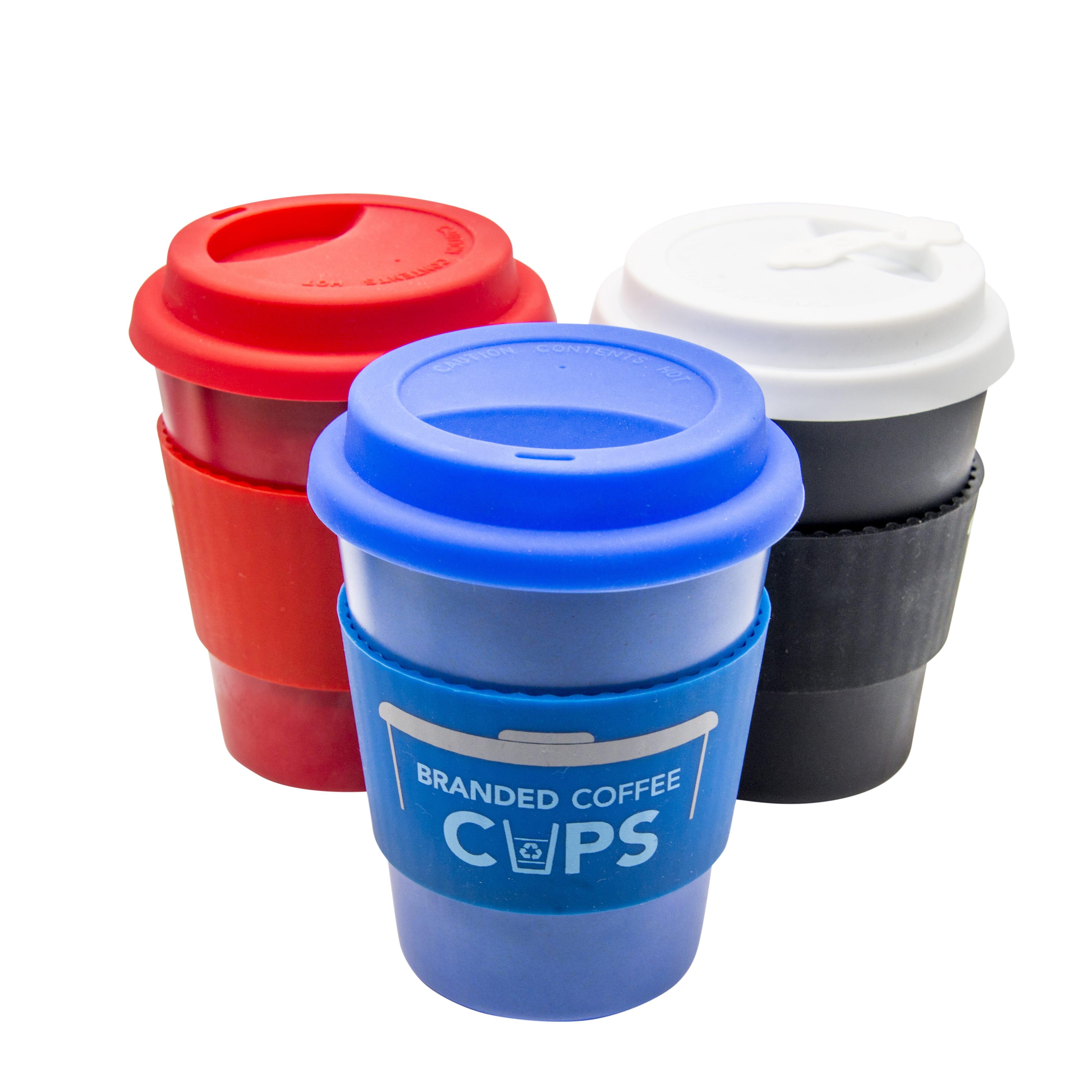 9 Ounce Custom Takeaway Coffee Cups With Logo Printing Multi